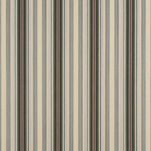 Alpine/Burgundy Pencil Stripe